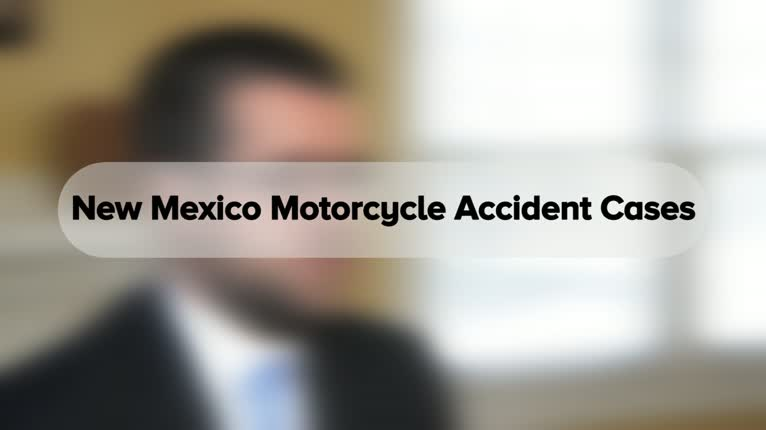 Albuquerque Motorcycle Accident Lawyers Serving All Of Nm