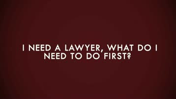 What Type of Lawyer Do I Need?