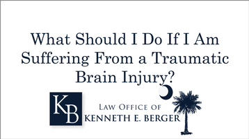 Attorney For SC Auto Accident Victims With a Head Injury