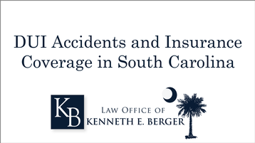 DUI Accidents and Insurance Coverage for Victims in South Carolina
