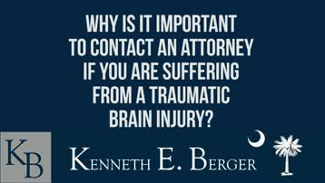 South Carolina TBI Attorney Helps Accident Victims