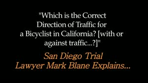 Negligence Factoring into Bike Accident Claim in San Diego