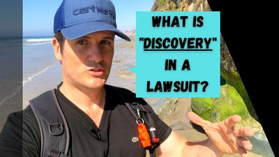 What Is Discovery In A California Injury Lawsuit
