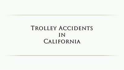 San Diego Red Trolley Accident Injuries | Things to Consider in these Cases