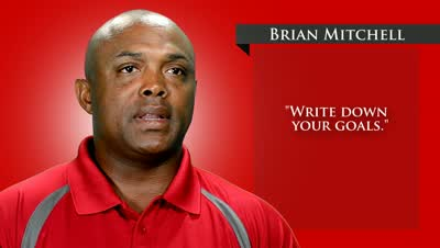 Brian Mitchell Discusses the Importance of Setting Goals