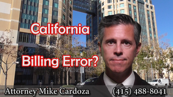 How to Fix Billing Errors in California