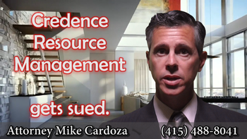 Credence Resource Management Gets Sued in California