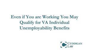 Benefits Available With Individual Unemployability