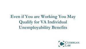 How Veterans Qualify for TDIU Benefits | Cuddigan Law