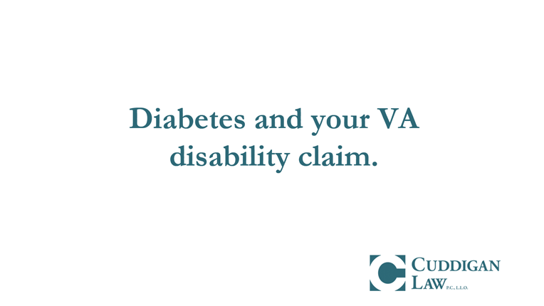 Diabetes, Agent Orange, and Your VA Disability Claim | Cuddigan Law