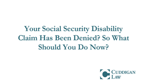 Omaha Social Security Disability Lawyers | Cuddigan Law