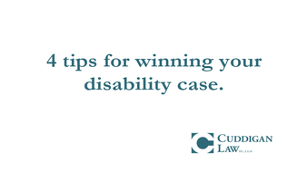 Four Tips to Winning Your Social Security Disability Case