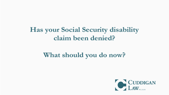 Should You Appeal if your Social Security Claim has been denied?
