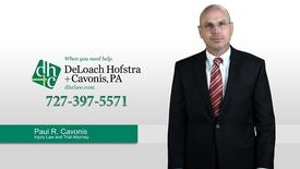 Meet Our Trial Attorney Paul Cavonis