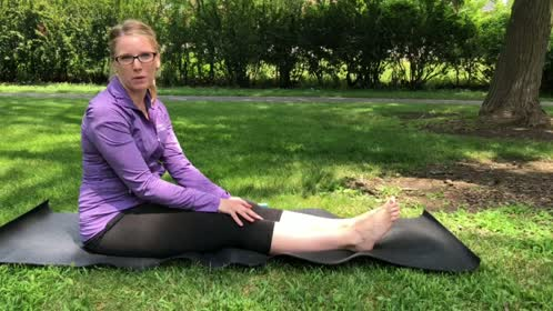 Band Stretch for Plantar Fasciitis