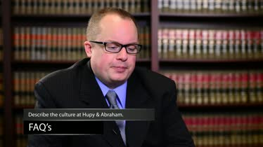 What Characterizes the Lawyers at Hupy and Abraham?