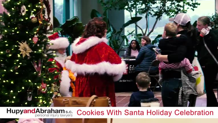 Cookies With Santa Holiday Celebration 2018 Hupy And Abraham S C