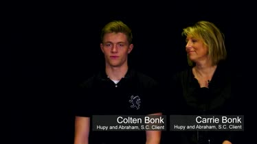 Hupy and Abraham, S.C. Client Testimonial - Colten and Carrie Bonk
