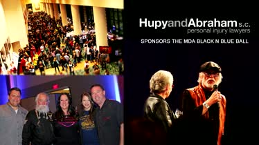Hupy and Abraham, S.C. Sponsors the 2016 MDA Black-N-Blue Ball