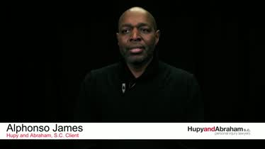Hupy and Abraham, S.C. Client Testimonial - Alphonso James