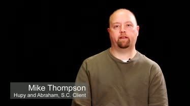 Hupy and Abraham, S.C. Client Testimonial - Mike Thompson