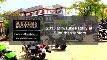 Milwaukee Rally 2015 - Suburban Motors