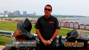 We Support Several Motorcycle Organizations - Hupy and Abraham, S.C.