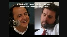 TALK RADIO: Dori Monson Talks To Chris Davis About Sound Transit Bus Accident