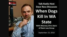 TALK RADIO: When Dogs Kill In Washington State Dave Ross KIRO Radio