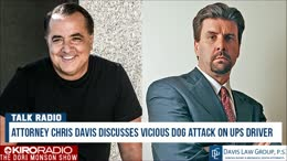 TALK RADIO: Attorney Chris Davis Discusses Vicious Dog Attack On UPS Driver
