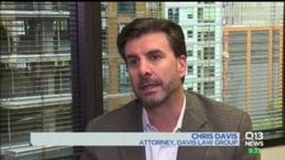 TV NEWS: Injury Attorney Interviewed, Quadriplegic Suing King County After Green River Trail Bicycle Accident