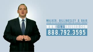 How can I afford an attorney? Our Injured Iowans First Fee Schedule