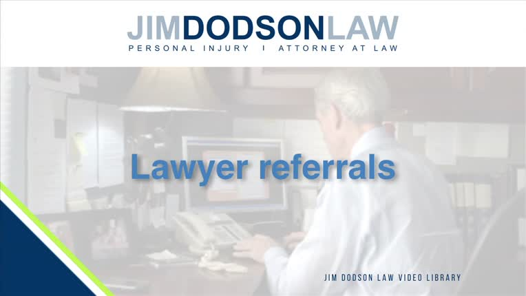Florida Personal Injury Lawyer Referrals | Jim Dodson Law