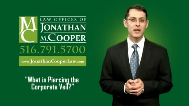 Piercing The Corporate Veil In New York Law Offices Of Jonathan M