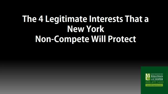 Non Compete Agreement Lawyer New York City Law Offices Of Jonathan