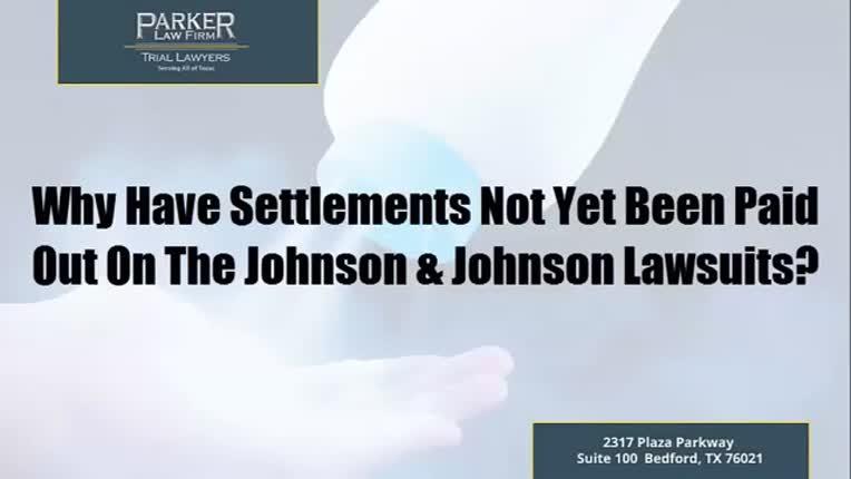 Settlements Lagging On The Johnson & Johnson Lawsuits