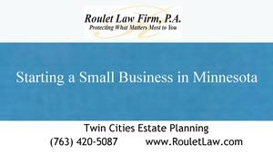 Minnesota Business Lawyer for Small Businesses and