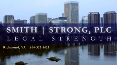 Welcome to Smith Strong, PLC from VA Attorney Van Smith in Richmond, VA