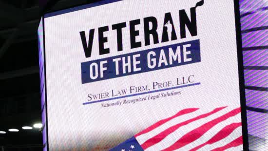 Swier Law Firm Veteran of the Game Honoring Deceased Veterans