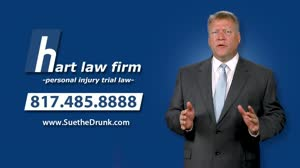 Who determines fault after an accident with a semi-truck